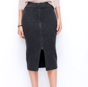 Gray Loft ribbed long skirt